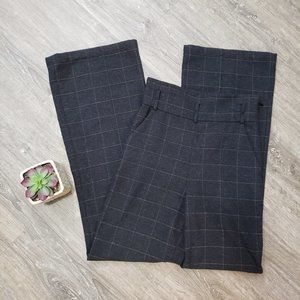 Marciano * Libby Wool Check Trouser Pants Sz 4